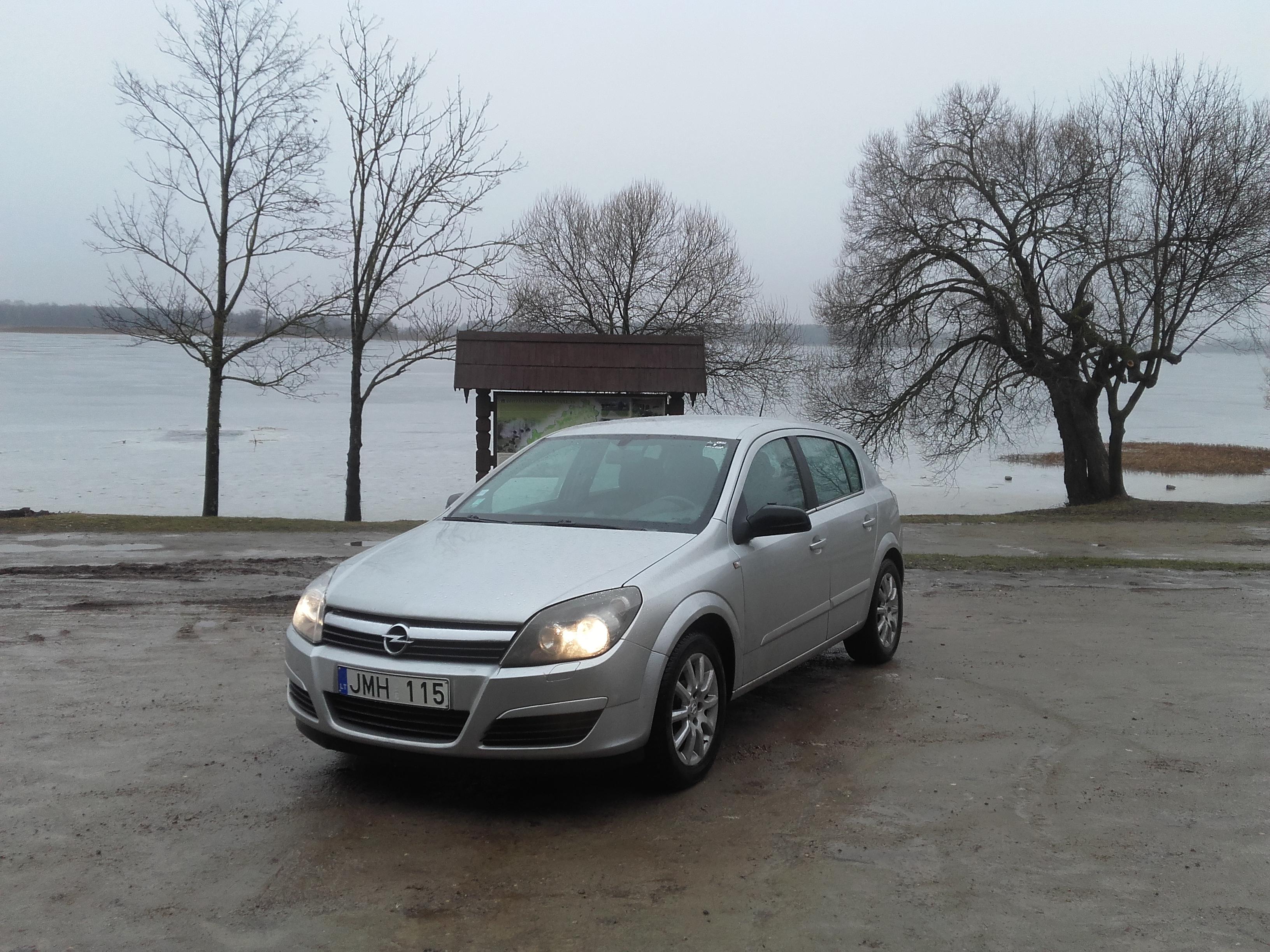 Opel Astra 2005 metų 1,7TDI